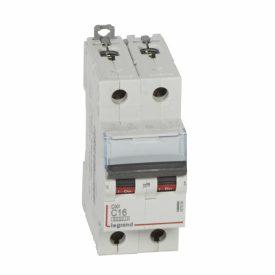 Legrand DX3-E Автоматический выключатель 2P 16А (С) 6000/10kA