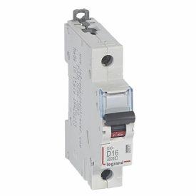 Legrand DX3 Автоматический выключатель 1P 16A (D) 10кА