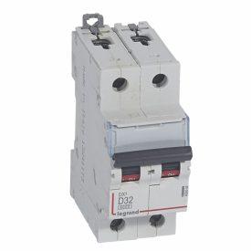 Legrand DX3 Автоматический выключатель 2P 32A (D) 6000/10kA
