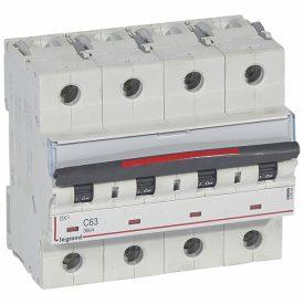 Legrand Автоматический выключатель DX3 63A 4п 36кА