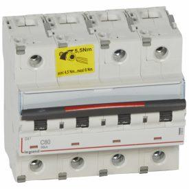Legrand Автоматический выключатель DX3 80A 4п 36кА