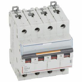 Legrand Автоматический выключатель DX3 4П MA4A 25кА
