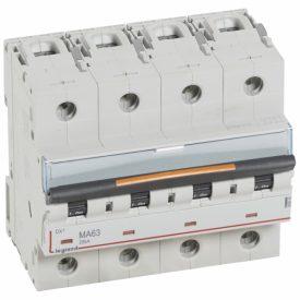 Legrand Автоматический выключатель DX3 4П MA63A 25кА