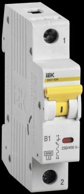 IEK (ИЭК) IEK Автоматический выключатель ВА47-60M 1Р 3А 6кА D